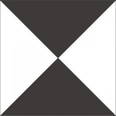 Квадратная цементная плитка ручной работы от Luxemix. Коллекция Simple. Арт.: sim_15