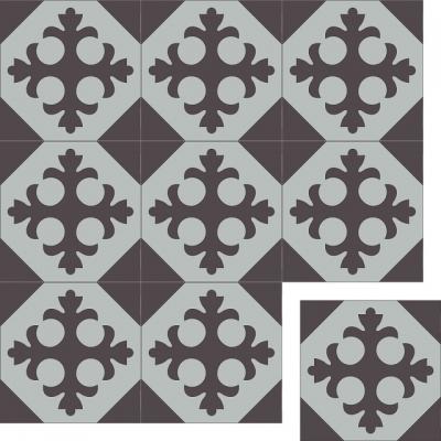 Цементная плитка Luxemix. Коллекция Vintage. Арт.: vin_06