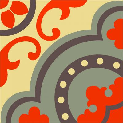 Цементная плитка Luxemix. Коллекция Vintage. Арт.: vin_18