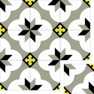 Цементная плитка Luxemix. Коллекция Vintage. Арт.: vin_19