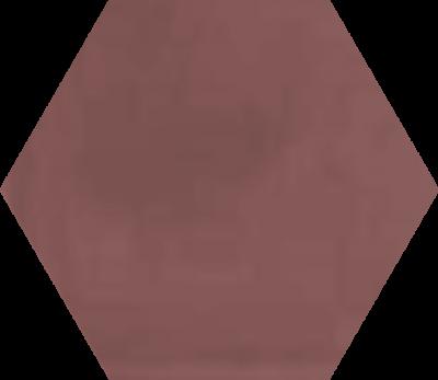 Однотонная шестиугольная плитка Luxemix ручной работы. Цвет 0304020