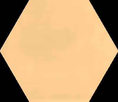 Однотонная шестиугольная плитка Luxemix ручной работы. Цвет 0708040