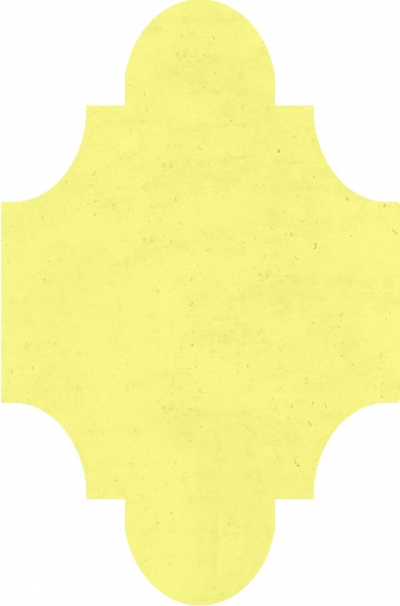"""Плитка Luxemix ручной работы в форме """"Фонарик"""". Цвет 0959050"""