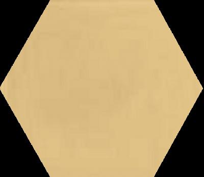 Однотонная шестиугольная плитка Luxemix ручной работы. Цвет 1001.