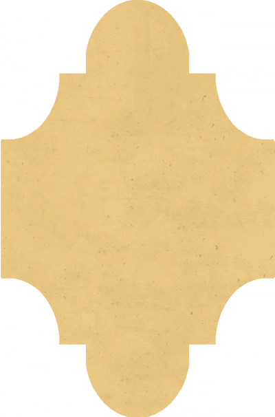 """Плитка Luxemix ручной работы в форме """"Фонарик"""". Цвет 1001."""