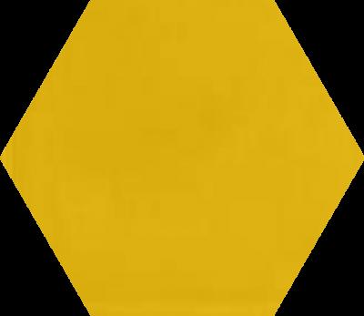 Однотонная шестиугольная плитка Luxemix ручной работы. Цвет 1003.