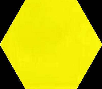 Однотонная шестиугольная плитка Luxemix ручной работы. Цвет 1016.