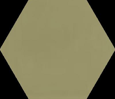 Однотонная шестиугольная плитка Luxemix ручной работы. Цвет 1020.