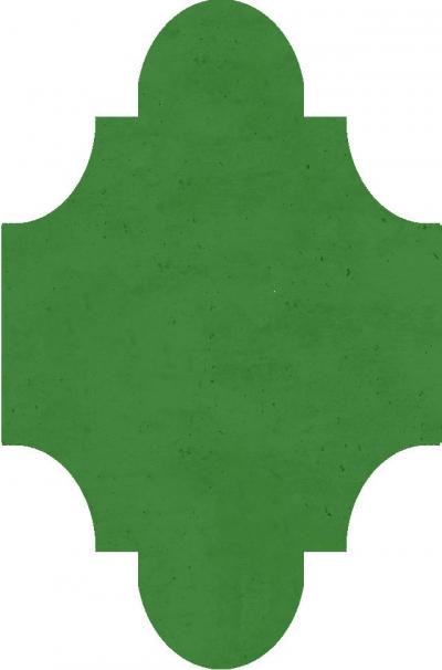 """Плитка Luxemix ручной работы в форме """"Фонарик"""". Цвет 1305040"""