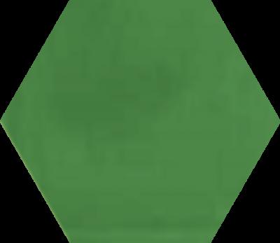 Однотонная шестиугольная плитка Luxemix ручной работы. Цвет 1305040