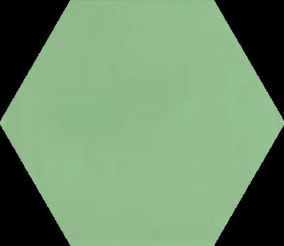 Однотонная шестиугольная плитка Luxemix ручной работы. Цвет 1307030