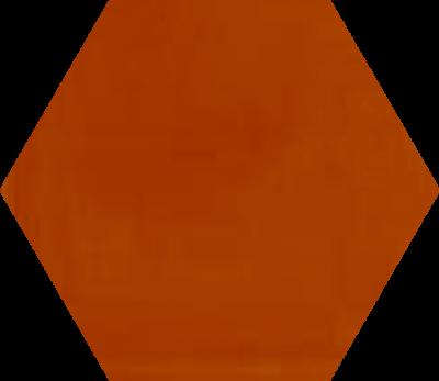 Однотонная шестиугольная плитка Luxemix ручной работы. Цвет 2001.