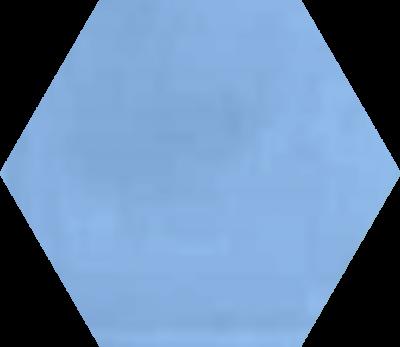 Однотонная шестиугольная плитка Luxemix ручной работы. Цвет 2507030