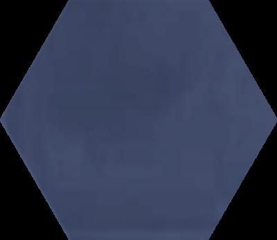Однотонная шестиугольная плитка Luxemix ручной работы. Цвет 2703020