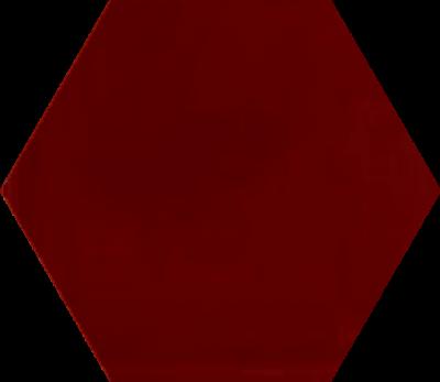 Однотонная шестиугольная плитка Luxemix ручной работы. Цвет 3001