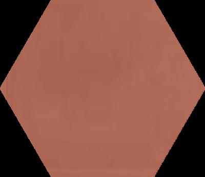 Однотонная шестиугольная плитка Luxemix ручной работы. Цвет 3012