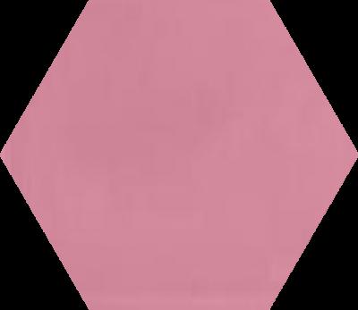 Однотонная шестиугольная плитка Luxemix ручной работы. Цвет 3015