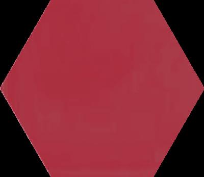 Однотонная шестиугольная плитка Luxemix ручной работы. Цвет 3017