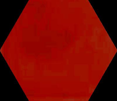 Однотонная шестиугольная плитка Luxemix ручной работы. Цвет 3020