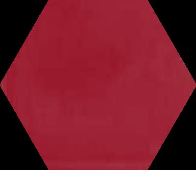 Однотонная шестиугольная плитка Luxemix ручной работы. Цвет 3027