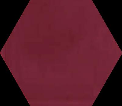Однотонная шестиугольная плитка Luxemix ручной работы. Цвет 4002