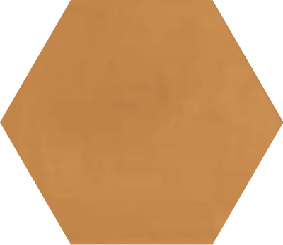 Однотонная шестиугольная плитка Luxemix ручной работы. Цвет 0606040