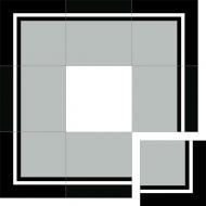 Бордюр из цементной плитки