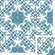 Цементная плитка ручной работы Luxemix. Коллекция Elegance. Арт.: ele_02