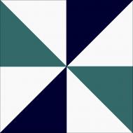 Цементная плитка ручной работы Luxemix. Коллекция Geometry. Арт.: geo_09