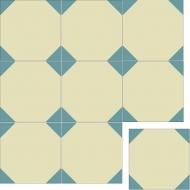 Квадратная цементная плитка ручной работы от Luxemix. Коллекция Geometry. Арт.: geo_12