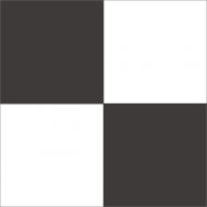 Квадратная цементная плитка ручной работы от Luxemix. Коллекция Simple. Арт.: sim_01