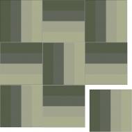 Квадратная цементная плитка ручной работы от Luxemix. Коллекция Simple. Арт.: sim_09