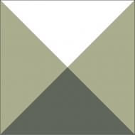 Квадратная цементная плитка ручной работы от Luxemix. Коллекция Simple. Арт.: sim_14