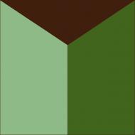 Квадратная цементная плитка ручной работы от Luxemix. Коллекция Simple. Арт.: sim_16