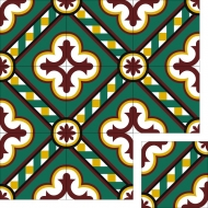 Цементная плитка Luxemix. Коллекция Vintage. Арт.: vin_12