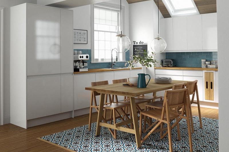 цементная плитка для кухни
